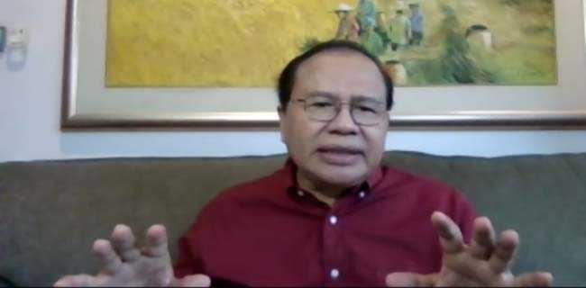 Rizal Ramli Sarankan Jokowi Tarik Mundur Gibran Dari Kontestasi Pilwakot Solo