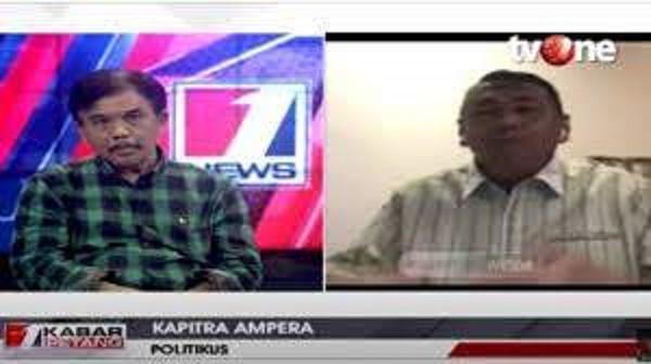Debat Panas Kapitra Vs Syahganda Nainggolan soal Deklarasi KAMI