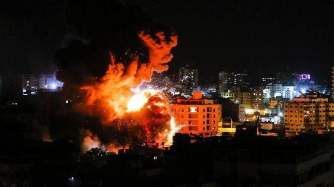 Israel menyerang Jalur Gaza sejak Ahad dan Senin malam. Foto: Istimewa