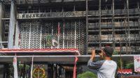 Sebelum Kebakaran Kejagung, Tukang Bangunan Buang 3 Puntung ke Polybag