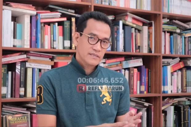 Ahli Hukum Tata Negara Refly Harun. (Foto/youtube/sindonews.com)