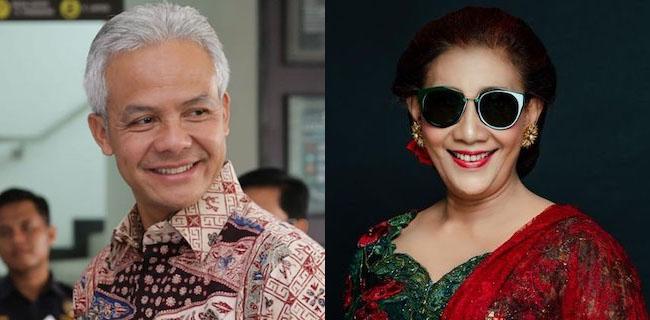 Gubernur Jawa Tengah Ganjar Pranowo dan mantan Menteri KKP Susi Pudjiastuti