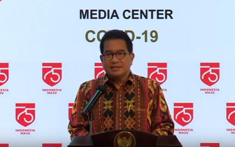 Juru Bicara Satuan Tugas Penanganan Covid-19 Profesor Wiku Adisasmito. JIBI - Bisnis/Nancy Junita (Foto: Kabar24.bisnis.com)