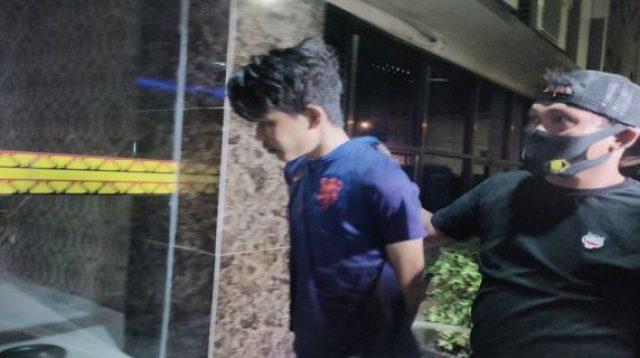 Pelaku penikaman Syekh Ali Jaber di bawa polisi ke Mapolresta Bandarlampung