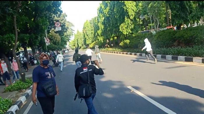 Momentum Saat Pendemo Gatot Nurmantyo Kocar-kacir Diserbu FKPPI
