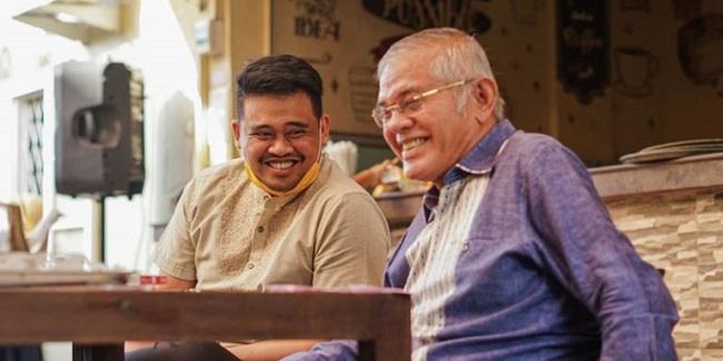 Bobby Nasution dan HT Milwan/RMOLSumut