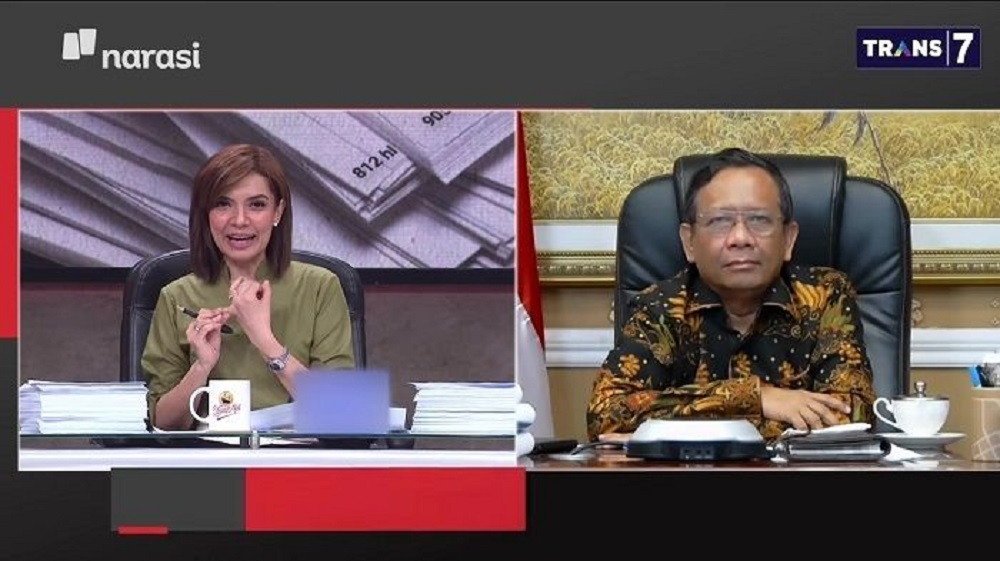 Mahfud MD Dorong SBY Laporkan Tanjung Politikus PDIP Penyebar Hoaks
