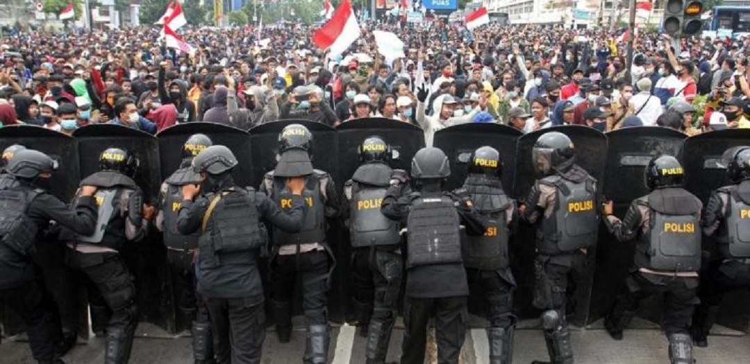 Gak Peduli, Pokoknya Buruh Demo Lagi, Istana Dikepung 5 Hari Berturut-turut Mulai Hari Ini