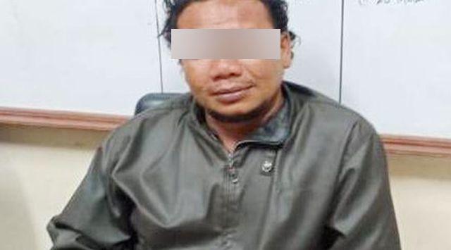 Ini Foto Wajah Penusuk Ustadz Zaid Maulana, Ternyata Pecatan Polisi