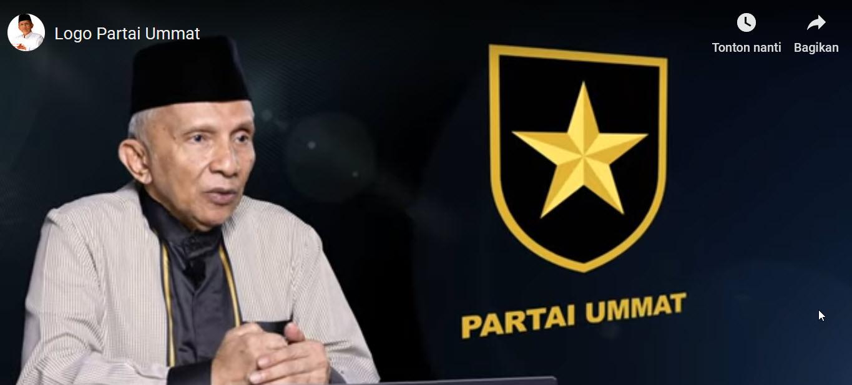 Resmi Umumkan Logo Partai Ummat, Amien Rais: Perisai ...