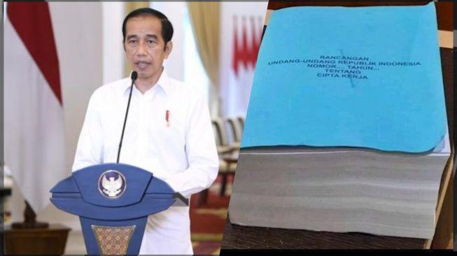 Jokowi Teken UU Cipta Kerja