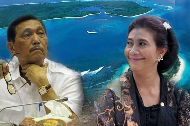 Luhut Sebut Aturan Ekspor Benih Lobster Tak Bermasalah, Susi: Cuma Indonesia yang Jualan