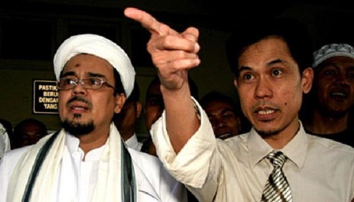 Habib Rizieq dan Munarman
