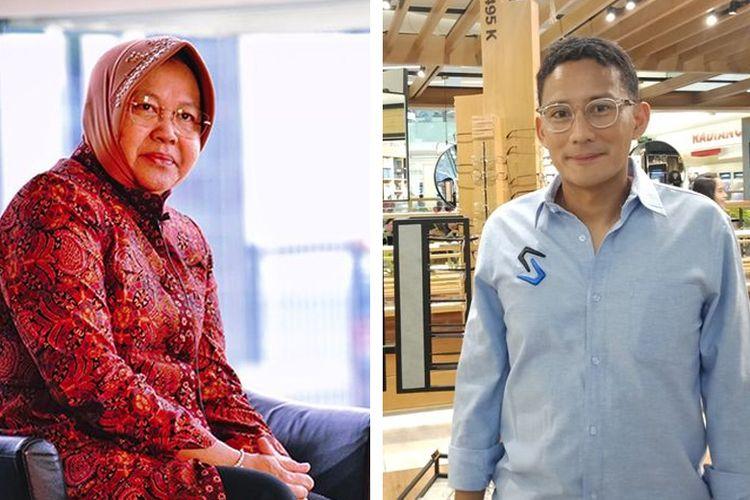 Risma, Sandiaga, dan Tanda-tanda Reshuffle Kabinet
