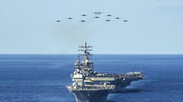 Pesawat Perang Terbesar China Terciduk Mendarat di Laut Natuna Utara