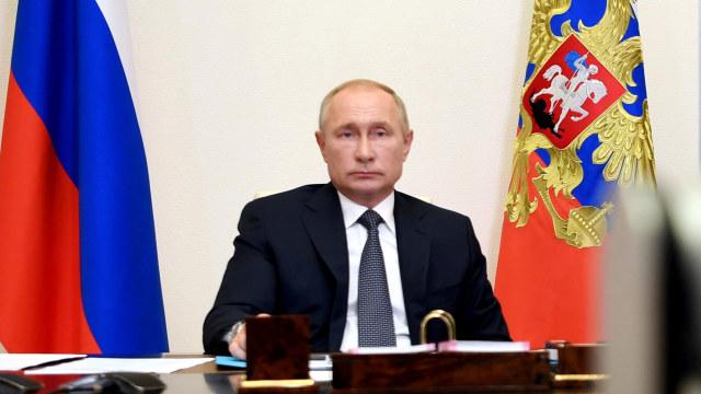 Vladimir Putin Sampaikan Belasungkawa atas Jatuhnya Sriwijaya Air