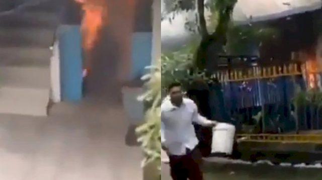 Mengerikan, Pesantren Muhammadiyah di Lamongan Diduga Dibakar 2 Kali, Santri Ketakutan