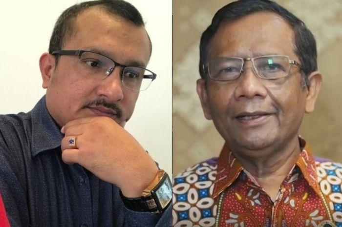 Mahfud Sebut Din Syamsuddin Tak Akan Diproses, Ferdinand: Anda Bisa Dituduh Halangi Proses Hukum