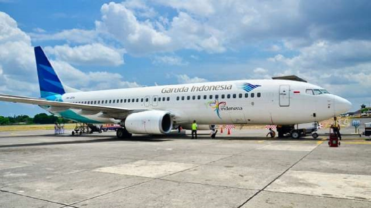 Garuda Indonesia Angkut Manggis Asal Padang ke China