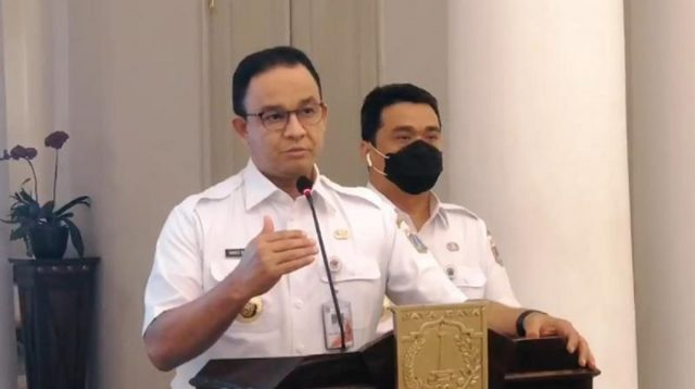 Gubernur Anies Soal Pahlawan Transportasi: Pengakuan Ini untuk Buat Kita Semua