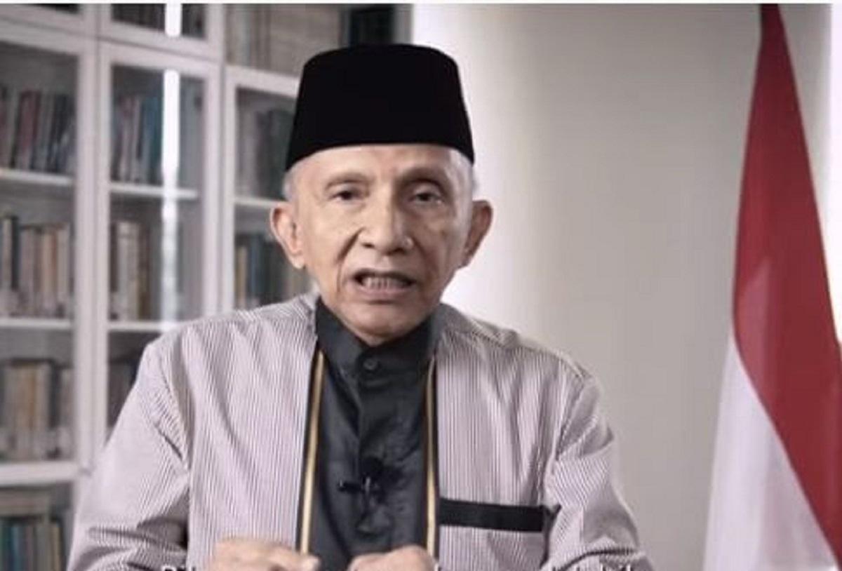 Presiden Jokowi Buat Gerakan Nasional Wakaf Uang, Amien Rais: Jangan Usik Uang Umat Islam