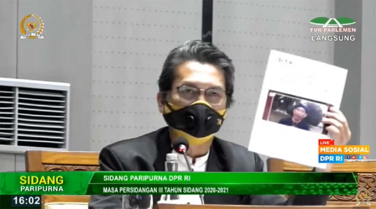 Video Aleg PKS Soal Abu Janda dan Influencer Pemerintah, 'Gemparkan' Sidang Paripurna DPR