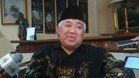 Din Syamsuddin Hanya Kritis Ke Pemerintah, Asrul Sani: Polisi Dan KASN Tidak Perlu Tanggapi Laporan GAR-ITB