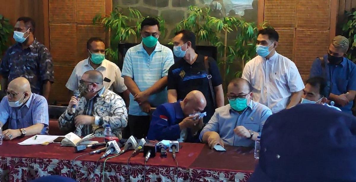 Aktor KLB Deliserdang Menangis Ungkap Penyesalannya Bantu SBY Maju Sebagai Ketum Demokrat Dua Periode
