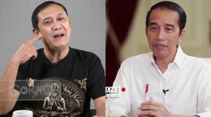 Kritik Jokowi Soal PPKM, Denny Siregar: Kritikan Saya Terkeras Sepanjang Perjalanan Bapak