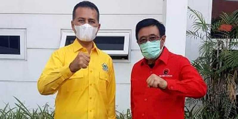Mengaku Tak Bawa Agenda Politik, Golkar Sumut Silaturahmi Ke DPD PDIP