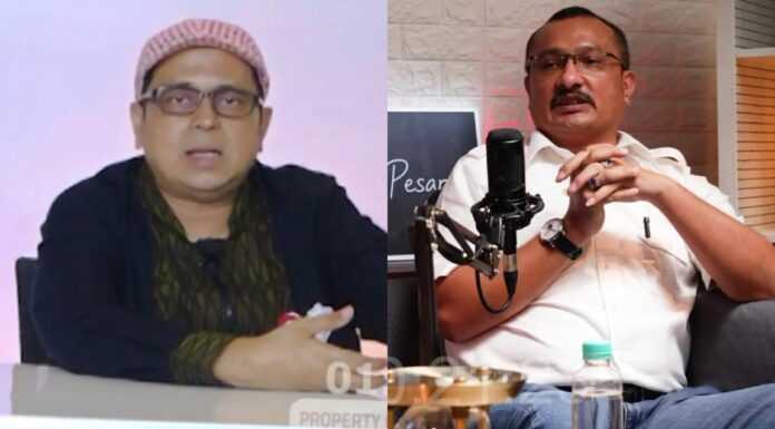 Ferdinand ke Haikal Hassan: Beneran Lu Sekarang Jadi Informan Pemerintah, tapi Pura-Pura Nyerang?
