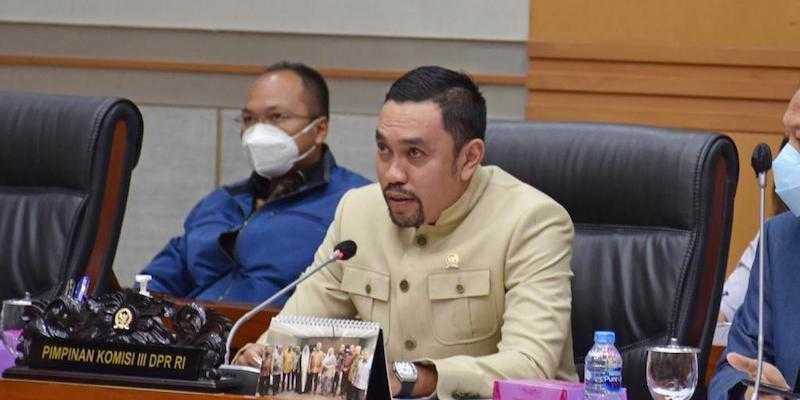 Komisi III Ajak Semua Pihak Bahu-Membahu Perbaiki Keadaan, Bukan Malah Saling Menyerang
