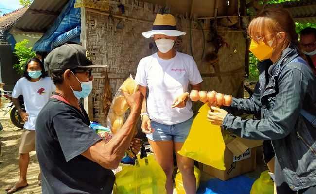 Agar Bisa Makan Warga Nusa Penida Minta Singkong dan Sayur ke Tetangga