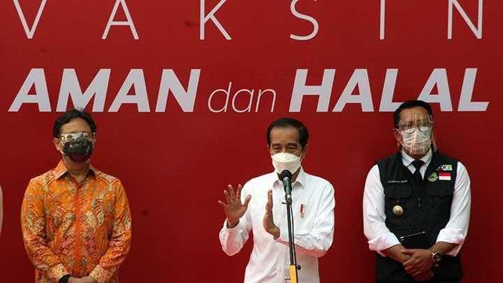Jokowi: Pemerintah Tidak Bisa Menyelesaikan Masalah Covid-19 Sendirian