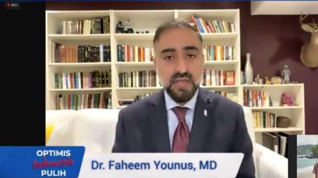 Dokter Faheem Younus: Ivermectin bukan Obat Covid-19