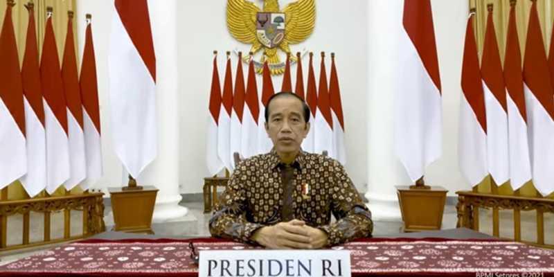 Presiden Jokowi Umumkan Perpanjangan PPKM Darurat, Hingga 25 Juli 2021