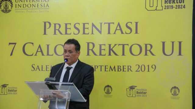 Rektor UI Ari Kuncoro