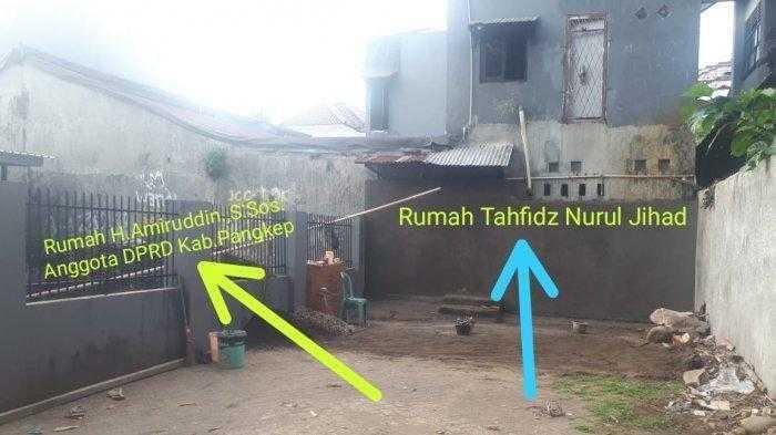 Anggota DPRD Bangun Tembok Tutup Gang Akses Para Tahfiz ke Masjid