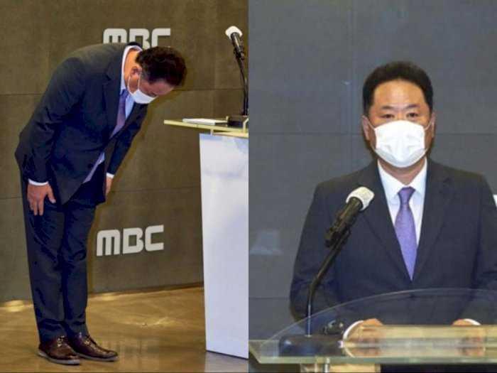 Hina Indonesia dan Negara Peserta Olimpiade, Presiden TV Korea MBC Membungkuk Minta Maaf