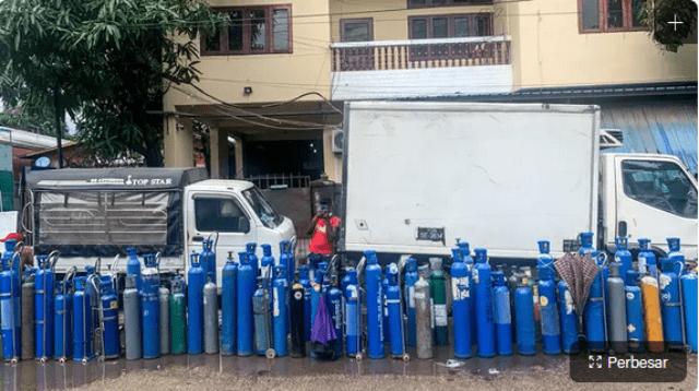 Perusahaan Oksigen di China Dapat Lonjakan Pesanan dari Indonesia