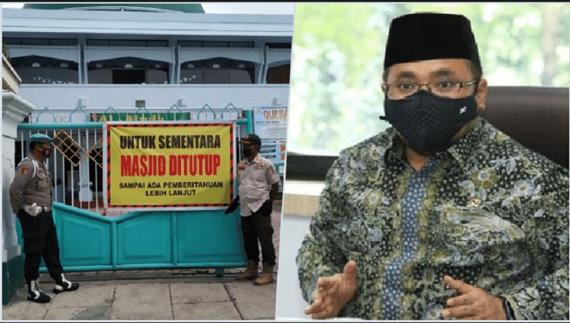 Menag Yaqut: Kami Tak Pernah Tutup Masjid, Hanya Tak Izinkan Ibadah Jemaah