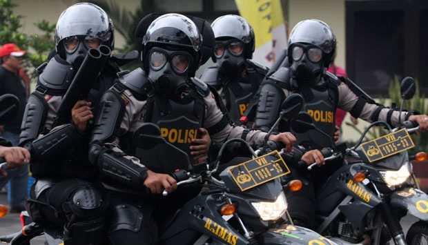 Antisipasi Demo Jokowi End Game, Jalur Sekitar Istana Dipasang Kawat Berduri