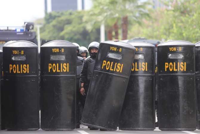 6 Orang Diamankan Karena Diduga Hendak Ikut Demo Jokowi End Game