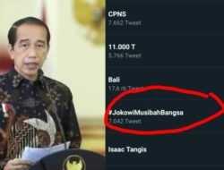 Muncul Tagar 'Jokowi Musibah Bangsa', Netizen Protes PPKM: Pelan Pelan Kita Modar