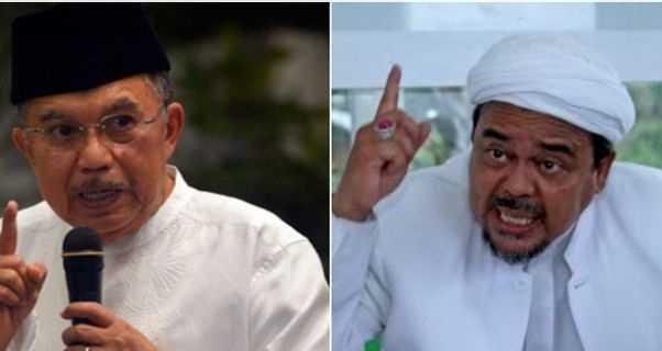 Soal Kekuatan Jusuf Kalla vs Habib Rizieq Shihab di Pilpres 2024, Ini Analisa Pengamat