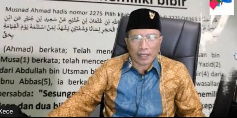 M. Kece Meresahkan Umat Islam dan Bisa Memantik Perpecahan
