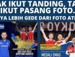 Sindir Poster Ucapan AHY dan Ibas, Ade Armando: Fotonya Lebih Besar dari Atletnya