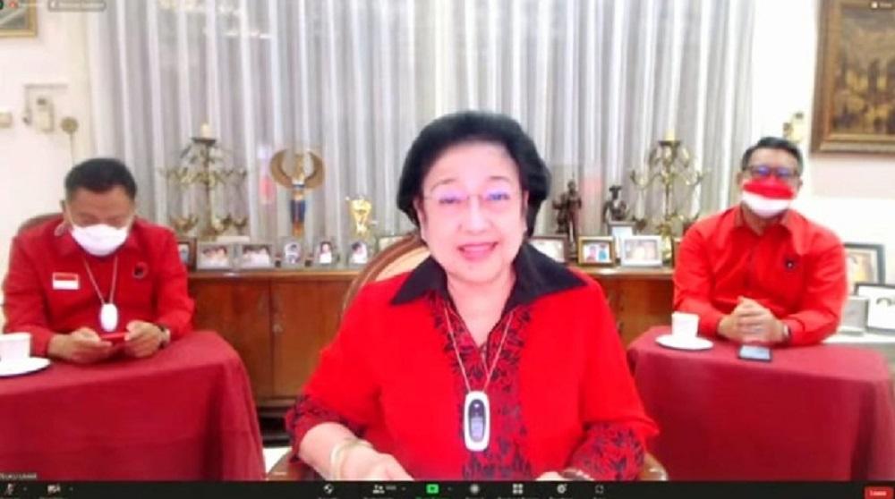 Megawati Muncul di Tengah Isu Sakit, PDIP: Ibu Tersenyum Begitu Cantik