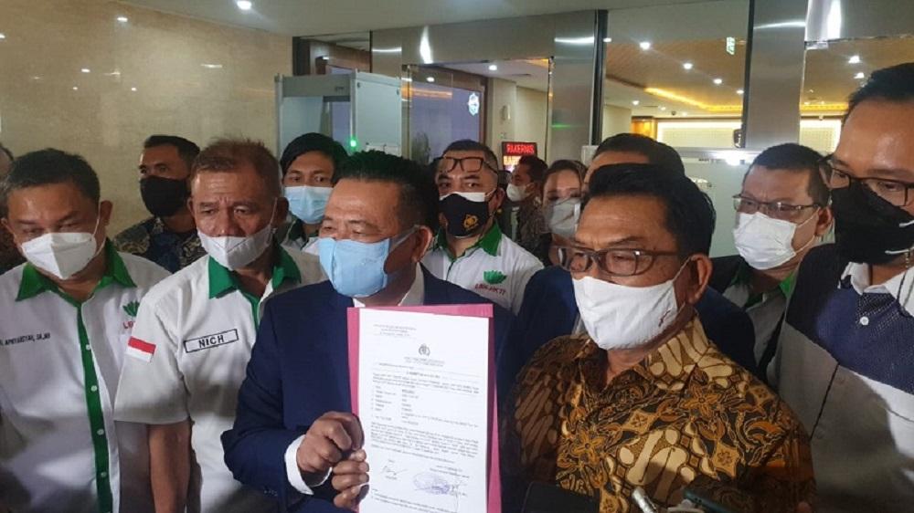 Laporkan Peneliti ICW, Moeldoko Tak Takut Disebut Anti Kritik