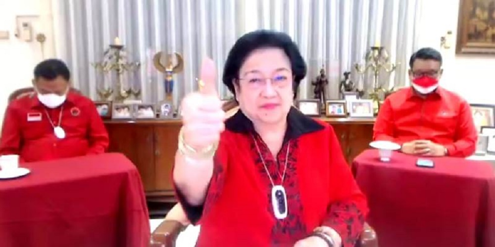 Megawati Soekarnoputri: Saya Mejeng karena Saran Hasto